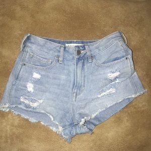 Pacsun bullhead High-rise shorts